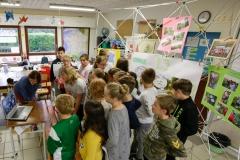 19 mai 2017 : depuis l'école des 4 vents à Pommerieux (57), échanges en direct avec les correspondands de l'Ecole Edgard Avril de la Plaine des Cafres à la Réunion